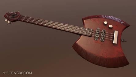 Marceline's Ax Bass #1 by Yogensia