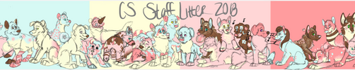 CS Staff Puppers 2018 by Rev-AMP