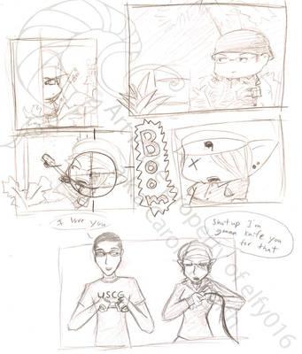 headshots say i love you by elfy016