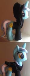 Lyra with hoodie MLP:FIM Plush by elfy016
