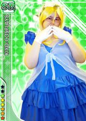 ~Cosplay~ - Love Live! - Eli Ayase - SR Card LOL by sakurablossom143