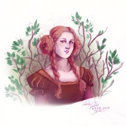 [ collab ] Garden Princess by CyciTheConqueror