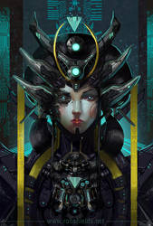 A.I. Queen by RobShields