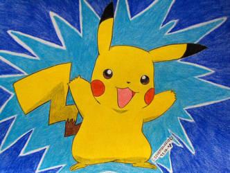 Pikachu by Ash-Misty-Pikachu