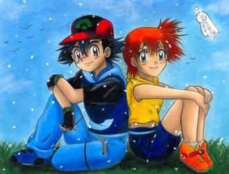 our little secret by Ash-Misty-Pikachu