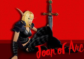 Joan of Arc by KillerCookie95