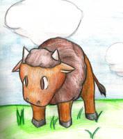 Buffalo by Arisonthekitsune