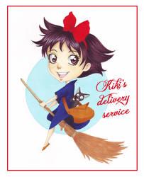 Kiki's delivery service by Chawia