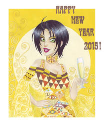 New Year 2015 ! by Chawia