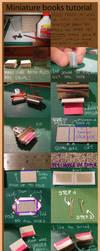 Mini books tutorials by Pandannabelle