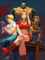 Streets of Rage 2 by lost-tyrant