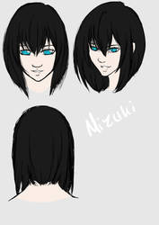 Mizuki hairstyle by TheEternalBlackRose