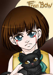 Fran Bow and Mr Midnight. by TheEternalBlackRose