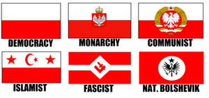 Alternate Flags of Poland by wolfmoon25