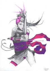 Psylocke by mercu97