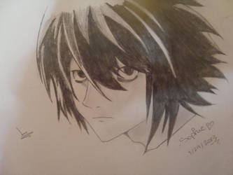 L (Death Note) by Izaya-Orihara8