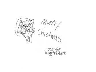 Merry Christmas everyone! by JaymieDaggerBark