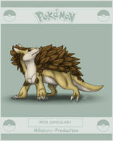 Pokedexproject - Sandslash by Mikaley