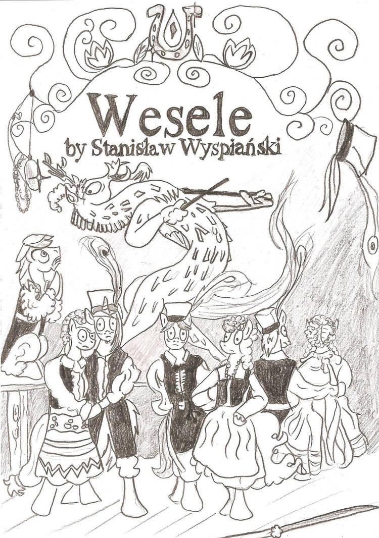Stanislaw Wyspianski Wesele Mlp Poster By Witkacy1994 On Deviantart