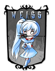 Weiss don't starve together mod cover by KelsuisP