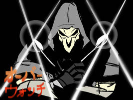 Reaper with the Extremely Inefficient Weapon by KelsuisP