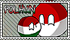 Hungary x Poland stamp by Tineviel