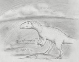 Dinovember Day 1- Eustreptospondylus oxoniensis by XStreamChaosOfficial