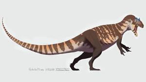 Dinovember Day 1: Allosaurus fragilis by XStreamChaosOfficial