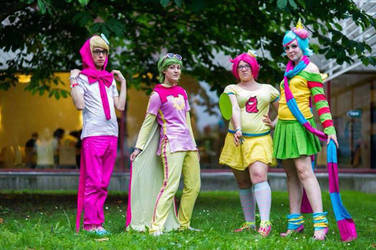 Tricksters - Homestuck Cosplay by Mitternachto