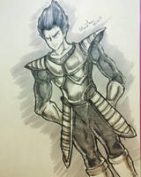 Vegeta by Monesh98