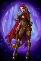 Red Riding Hood by MariaCalavera