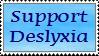 Dyslexia Stamp by Centauran