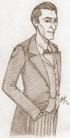 Holmes Is a Skinny Gentleman by iamfergie