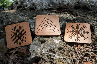 Elder Futhark Emblems by ChaoseVIIn