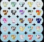 CHEAP Cat Adopt Batch -1- [ OPEN 25/25 ] by popfiish