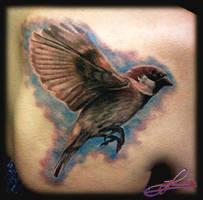 sparrow by dopsychologa