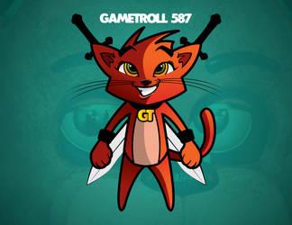 Cat Troll by LINKWAKER