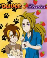 Oliver and Xavier by LilyandJasper