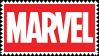 marvel logo stamp - 1 by mudshrimp