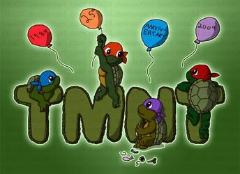 TMNT 25th Anniversary by Rika24