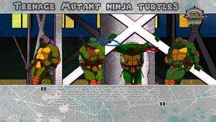 TMNT Widescreen Wallpaper by Rika24