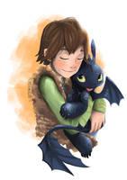 Cuddles by ArtPhish