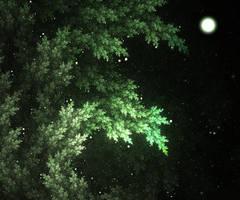Moonlit nature by SarcasmNymph