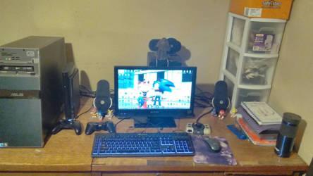 My Workstation by TheRaiBone12
