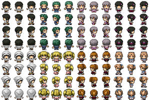 RPG Maker VX - Children (2) by Amysaurus121