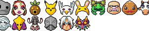 RMMV Icons - Majora's Mask by Amysaurus121