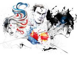 Trinity by David Despau by Superman8193