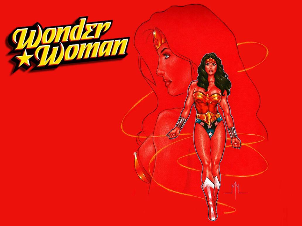Wonder Woman by MMcDArt by Superman8193