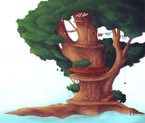 Treehouse by caughtinthehurricane