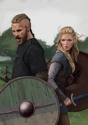 Vikings by saravami
